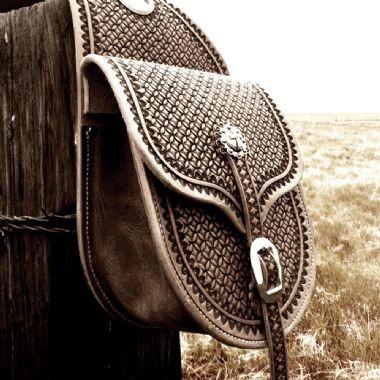 Alforjas para silla western